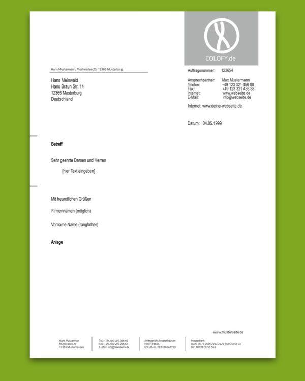 Briefpapier | Blanko Blatt