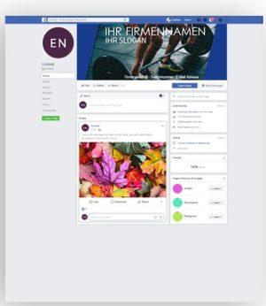 Facebook Titelbild Vorlage | Hantel