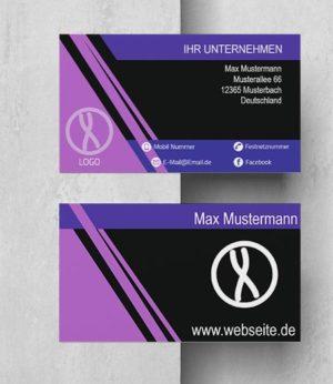 0012 Visitenkarten Vorlage
