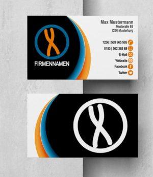 0016 Visitenkarten Vorlage
