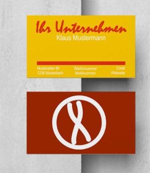 0017 Visitenkarten Vorlage