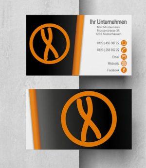 0018 Visitenkarten Vorlage