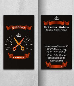 0025 Visitenkarten Vorlage | hoch