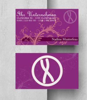 0019 Visitenkarten Vorlage