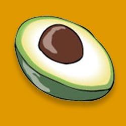 Flyer selbst gestalten Avocado