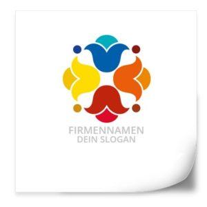 Logo Vorlagen Blumen