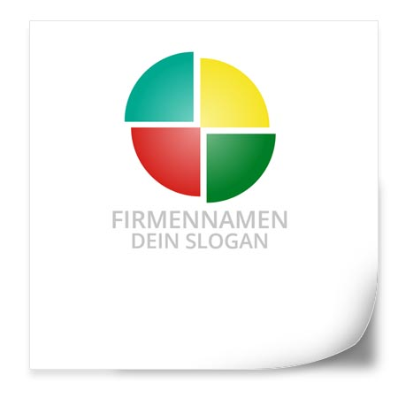 0025 Logo Vorlage Farbkreis Colofy De Der Online Designer