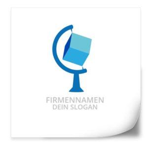 Logo Vorlage | GlobusWürfel