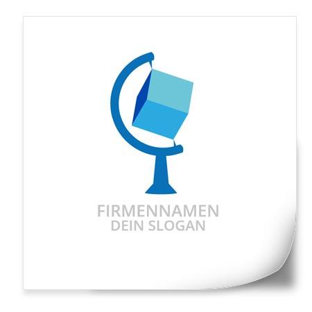 Logo Vorlage   GlobusWürfel