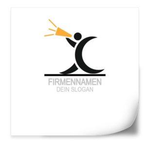 Logo Vorlage | MegaphoneMan2