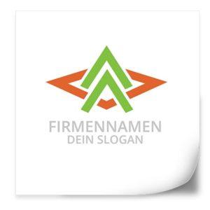 Logo Vorlage | PfeileHoch