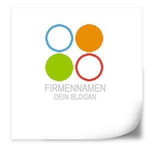 Logo Vorlage | PixelKreise