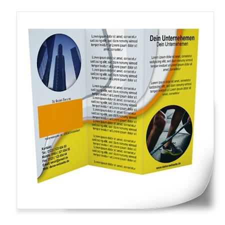 Flyer layout vorlagen