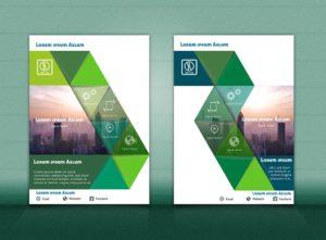 Flyer Vorlage DIN A4 | grünBusiness