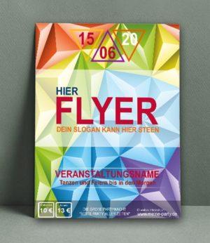 Flyer Vorlage DIN A 3 | TanzFeier